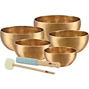 Meinl Sonic Energy 5-piece Universal Singing Bowl Set with Resonant Mallet