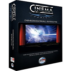 Sonic Reality Cinema Sessions: Dimensional Effects (SR-CS-DIM01)