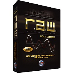 Sonic Reality R.A.W. Gold Edition Universal Groove Kit + 15 Style Paks (SR-RAW-GLD01-702673)
