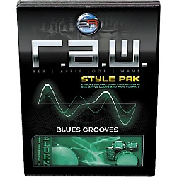 Sonic Reality R.A.W. Style Pack - Blues Grooves Loops Collection Software (SR-RAW-BLG11-702695)