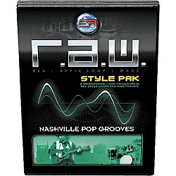 Sonic Reality R.A.W. Style Pack - Nashville Pop Grooves Loops Collection Software (SR-RAW-NPG01-702685)