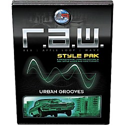 Sonic Reality R.A.W. Style Pack - Urban Grooves Loops Collection Software (SR-RAW-URG15-702699)