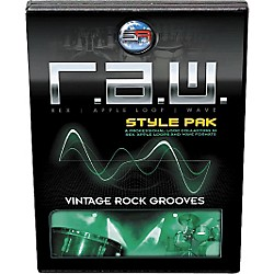 Sonic Reality R.A.W. Style Pack - Vintage Rock Grooves Loops Collection Software (SR-RAW-VRG06-702690)