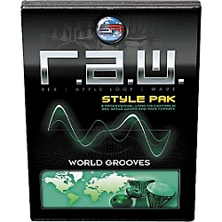 Sonic Reality R.A.W. Style Pack - World Grooves Loops Collection (SR-RAW-WRG07-702691)