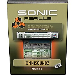 Sonic Reality Reason 3 Refills Vol. 06: OmniSoundz GM (SR-RR06-HCD-IN)