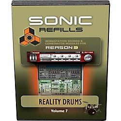 Sonic Reality Reason 3 Refills Vol. 07: Reality Drums (SR-RR07-HCD-IN)
