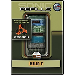 Sonic Reality Sonic Refill for Reason Volume 20 - Mello-T (9910-40619-00)