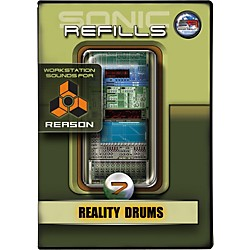 Sonic Reality Sonic Refill for Reason Volume 7 - Reality Drums (9910-40606-00)