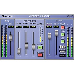 Sonnox Oxford Limiter (Native) Software Download (1029-20)