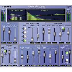 Sonnox Oxford Reverb (HD-HDX) Software Download (1029-32)