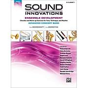 Alfred Sound Innovations Concert Band Ensemble Development Advanced Clarinet 1