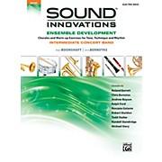 Alfred Sound Innovations Concert Band Ensemble Development Electric Bass Book