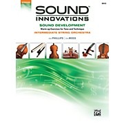 Alfred Sound Innovations String Orchestra Sound Development Bass Book