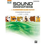 Alfred Sound Innovations for Elementary Class Guitar Teacher Edition Book & Online Audio & Video