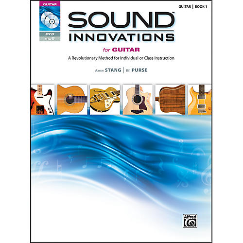 Alfred Sound Innovations for Guitar Book, DVD & MP3 Recordings-thumbnail