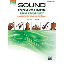 Alfred Sound Innovations for String Orchestra Sound Development Conductor's Score