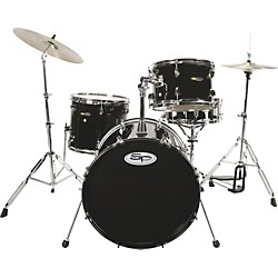 Sound Percussion SP 4 Piece Drum Kit with Hardware (SP2BK)
