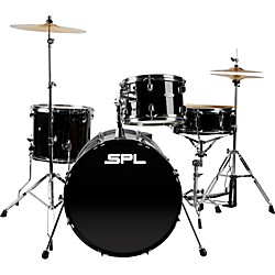 Sound Percussion Unity -  4 Piece Drum Set with Hardware (D4420BK)