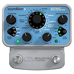 Source Audio Soundblox 2 Multi Wave Bass Distortion (SA221)