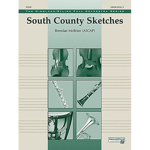 Alfred South County Sketches Full Orchestra Grade 4 Set-thumbnail