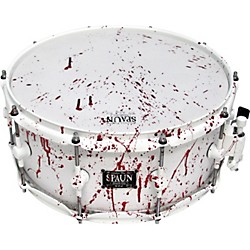 Spaun Blood Spatter Maple Snare Drum (C614SPW-FWBSP)