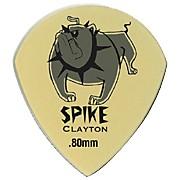 Clayton Spike Ultem Gold Sharp Teardrop Guitar Picks 1 Dozen