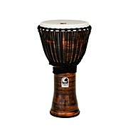 Toca Spun Copper Rope Tuned Djembe