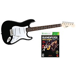 Squier Bullet with BandFuse: Rock Legends (SQBBLK-XB360)