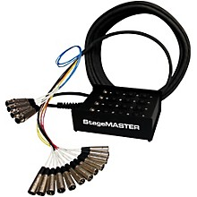 Pro Co StageMASTER SMC Series 12-Channel Snake