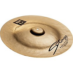 Stagg DH Dual-Hammered Brilliant China Cymbal (DH-CH18B)