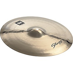 Stagg DH Dual-Hammered Brilliant Rock Crash Cymbal (DH-CR16B)