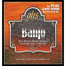 GHS Stainless Steel 5-String Banjo Strings - Almost Medium