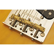 Hipshot Stainless Steel Tele Bridge 4-Hole Mount With Compensated Saddles