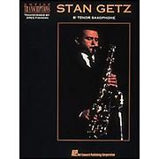 Hal Leonard Stan Getz Bb Tenor Saxophone Artist Transcriptions