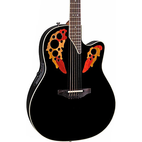 Ovation Standard Elite 2778 AX Acoustic-Electric Guitar Black