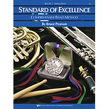 KJOS Standard Of Excellence Book 2 Drums/Mallet Percussion