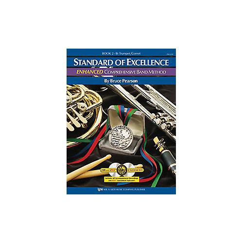 KJOS Standard Of Excellence Book 2 Enhanced Trumpet-thumbnail