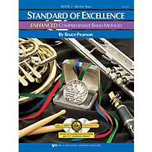 KJOS Standard of Excellence ENHANCED Comprehensive Band Method - Electric Bass Guitar