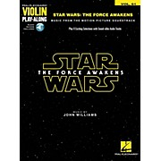 Hal Leonard Star Wars - The Force Awakens Violin Play-Along Volume 61 (Book/Audio Online)