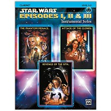 Alfred Star Wars: Episodes I, II & III Instrumental Solos Clarinet Book & CD