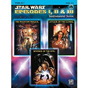 Alfred Star Wars: Episodes I, II & III Instrumental Solos Horn in F Book & CD