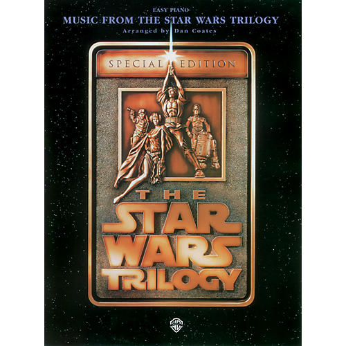 Alfred Star Wars Trilogy for Easy Piano Book-thumbnail