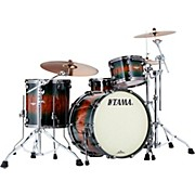 Tama Starclassic Bubinga Exotix 3-Piece Shell Kit with Black Nickel Shell Hardware