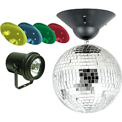 "Startec MB-8 8"" Mirror Ball Package (MB8 Combo)"