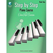 Willis Music Step By Step Piano Course Book 2 Book/CD Pkg