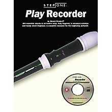 Music Sales Step One: Play Recorder (Book/CD)