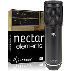 Sterling Audio ST51 Mic with Nectar Elements Bundle (ST51 Mic NectarElem Bundl)