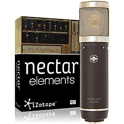 Sterling Audio ST55 Mic with Nectar Elements Bundle (ST55 Mic NectarElem Bundl)