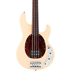 Sterling by Music Man RAY34 Classic Active Series Fretless Electric Bass Guitar (RAY34CAFL-VC)