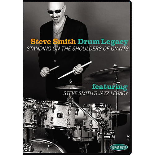 Hudson Music Steve Smith's Drum Legacy - Standing on the Shoulder of Giants 2 DVD Set with CD-thumbnail